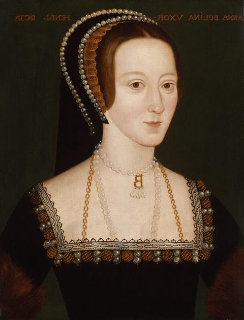 668,Anne Boleyn,by Unknown artist Unknown artist